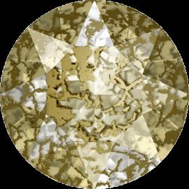 Шатон Swarovski 1088, Gold Patina, ss39