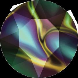 Шатон Swarovski 1088, Crystal Rainbow Dark, ss39