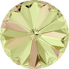 Риволи Swarovski 1122, Crystal Luminous Green, 12мм