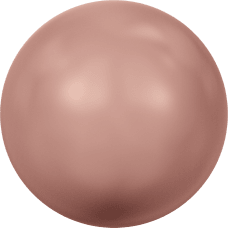 Жемчуг Swarovski 5810, Rose Peach Pearl, 3мм