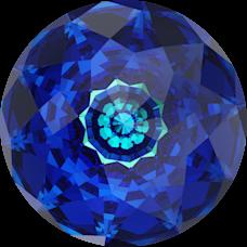 Кристалл Swarovski 1400, Bermuda Blue, 18мм