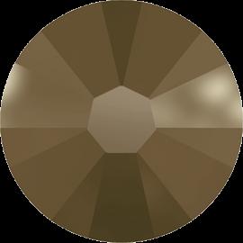 Стразы Swarovski 2058, Crystal Metallic  Light Gold, ss5