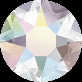Стразы Swarovski 2078, Crystal AB Silver-Foiled Hotfix, ss12