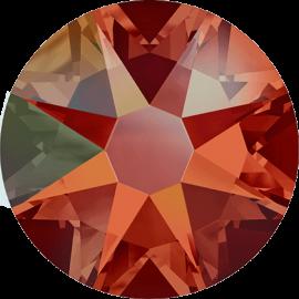 Стразы Swarovski 2078, Hyacinth Shimmer (Silver-Foiled Hotfix), ss16