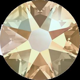 Стразы Swarovski 2078, Silk Shimmer (Silver-Foiled Hotfix), ss34
