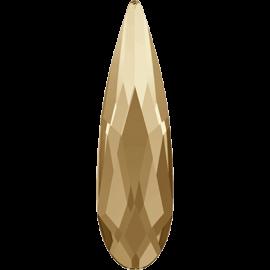 Стразы Swarovski 2304, Crystal Golden Shadow, 6*1,7мм