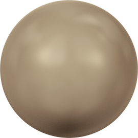 Жемчуг Swarovski 5810, Crystal Bronze Pearl, 5мм