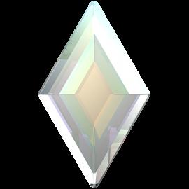 Стразы Swarovski 2773, Crystal AB, 9,9*5,9мм