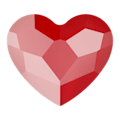 Стразы Swarovski 2808, Crystal Royal Red (Unfoiled), 3,6мм