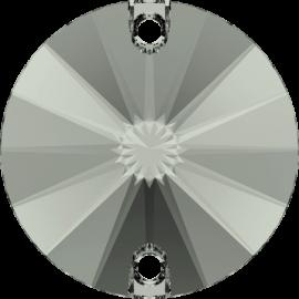 Нашивной кристалл Swarovski 3200, Black Diamond, 10мм