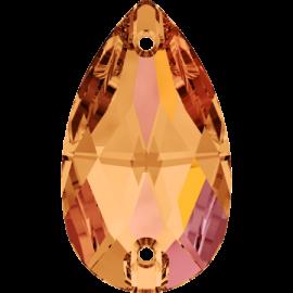 Нашивной кристалл Swarovski 3230, Astral Pink, 12*7мм