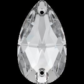Нашивной кристалл Swarovski 3230, Crystal, 28*17мм
