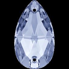 Нашивной кристалл Swarovski 3230, Light Sapphire, 12*7мм