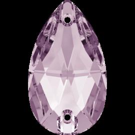 Нашивной кристалл Swarovski 3230, Light Amethyst, 12*7мм