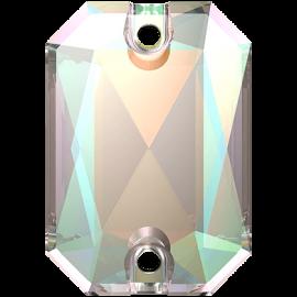 Нашивной кристалл Swarovski 3252, Crystal AB, 14*10мм