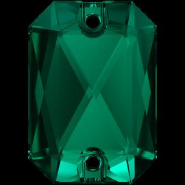 Нашивной кристалл Swarovski 3252, Emerald, 20*14мм