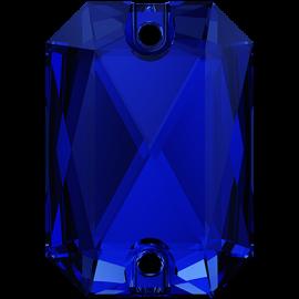 Нашивной кристалл Swarovski 3252, Majestic Blue, 14*10мм