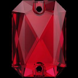Нашивной кристалл Swarovski 3252, Scarlet, 14*10мм