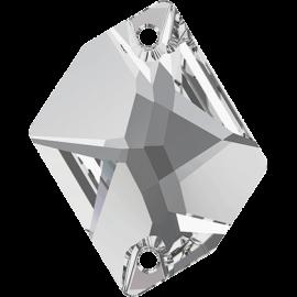 Нашивной кристалл Swarovski 3265, Crystal, 20*16мм