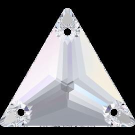 Нашивной кристалл Swarovski 3270, Crystal AB, 16мм