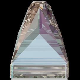 Нашивной кристалл Swarovski 3296, Black Diamond Shimmer, 7*7мм