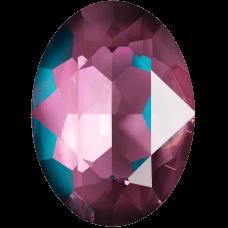 Кристалл в оправу Swarovski 4120, Crystal Burgundy Delite, 14*10мм