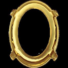 Оправа Swarovski 4122/S, Золото, 14*10,5мм