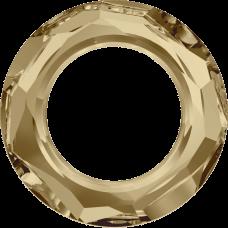 Кристалл Swarovski 4139, Golden Shadow, 20мм