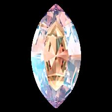 Кристалл в оправу Swarovski 4228, Light Rose Shimmer, 15*7мм