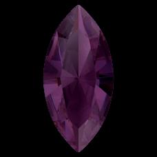 Кристалл в оправу Swarovski 4228, Amethyst Ignite, 15*7мм