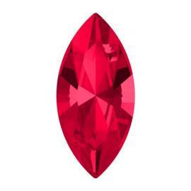 Кристалл в оправу Swarovski 4228, Scarlet, 10*5мм