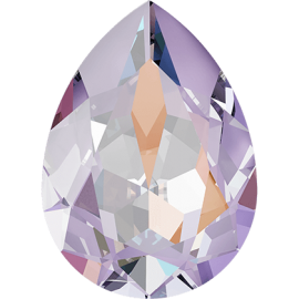 Кристалл в оправу Swarovski 4320, Crystal Lavender Delite (L144D) Unfoiled, 14*10мм