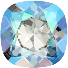 Кристалл в оправу Swarovski 4470, Light Sapphire Shimmer, 12мм
