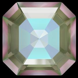 Кристалл в оправу Swarovski 4480, Crystal Army Green Delite, 8мм