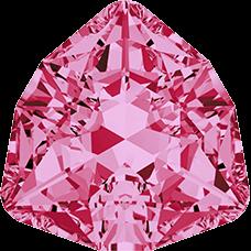 Кристалл в оправу Swarovski 4706, Rose, 17мм