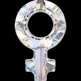 Кристалл в оправу Swarovski 4876, Crystal AB, 18*11,5мм