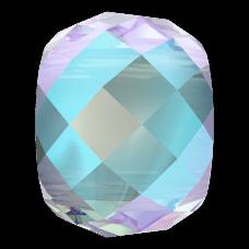 Бусина Swarovski 5043, Aquamarine Shimmer, 11мм