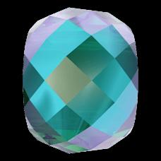 Бусина Swarovski 5043, Emerald Shimmer, 11мм
