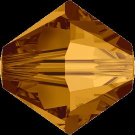 Бусина Swarovski 5328, Crystal Copper, 2.5мм