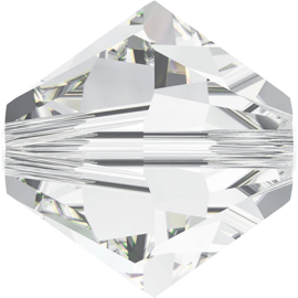 Бусина Swarovski 5328, Crystal, 4мм