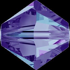 Бусина Swarovski 5328, Crystal Heliotrope, 4мм