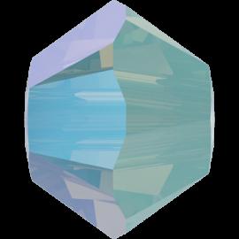 Бусина Swarovski 5328, Pacific Opal Shimmer, 4мм