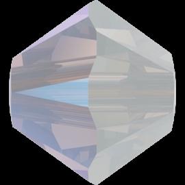 Бусина Swarovski 5328, White Opal Shimmer, 4мм