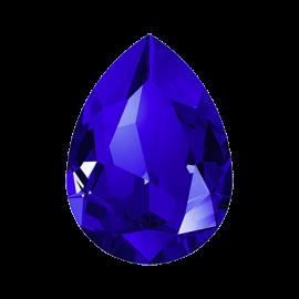Кристалл в оправу Swarovski 4320, Majestic Blue, 14*10мм