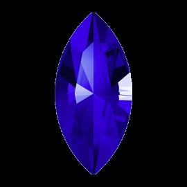 Кристалл в оправу Swarovski 4228, Majestic Blue, 10*5мм