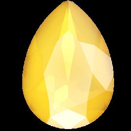 Кристалл в оправу Swarovski 4320, Crystal Buttercup, 14*10мм