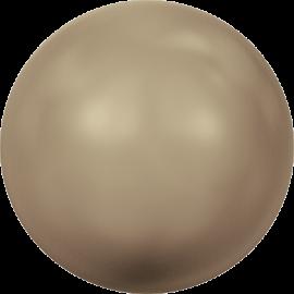 Жемчуг Swarovski 5810, Crystal Bronze Pearl, 4мм