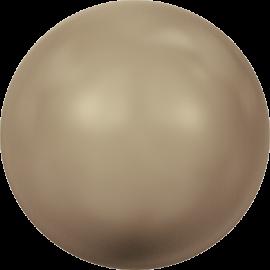 Жемчуг Swarovski 5810, Crystal Bronze Pearl, 12мм