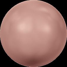 Жемчуг Swarovski 5810, Rose Peach, 5мм