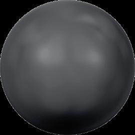 Жемчуг Swarovski 5810, Crystal Black Pearl, 8мм